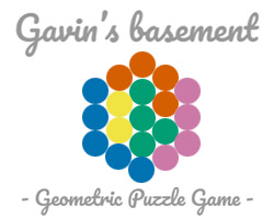 Gavin's basement - Geometric Puzzle Game
